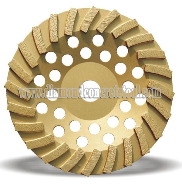 Wave Turbo Diamond Grinding Cup Wheels