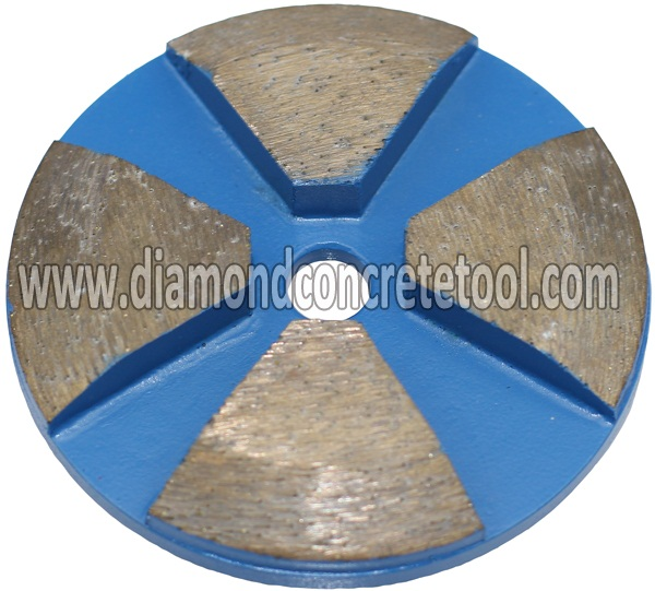 4 Bevel Edge Seg Metal Discs