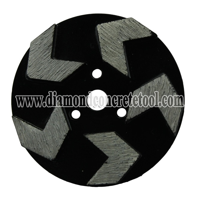 5 Arrow Segment Concrete Grinding Discs For Stonekor