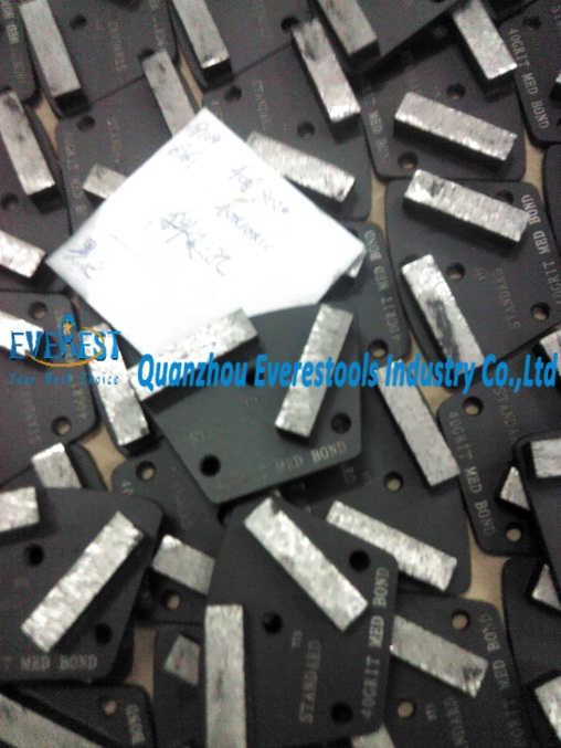 diamond concrete plate